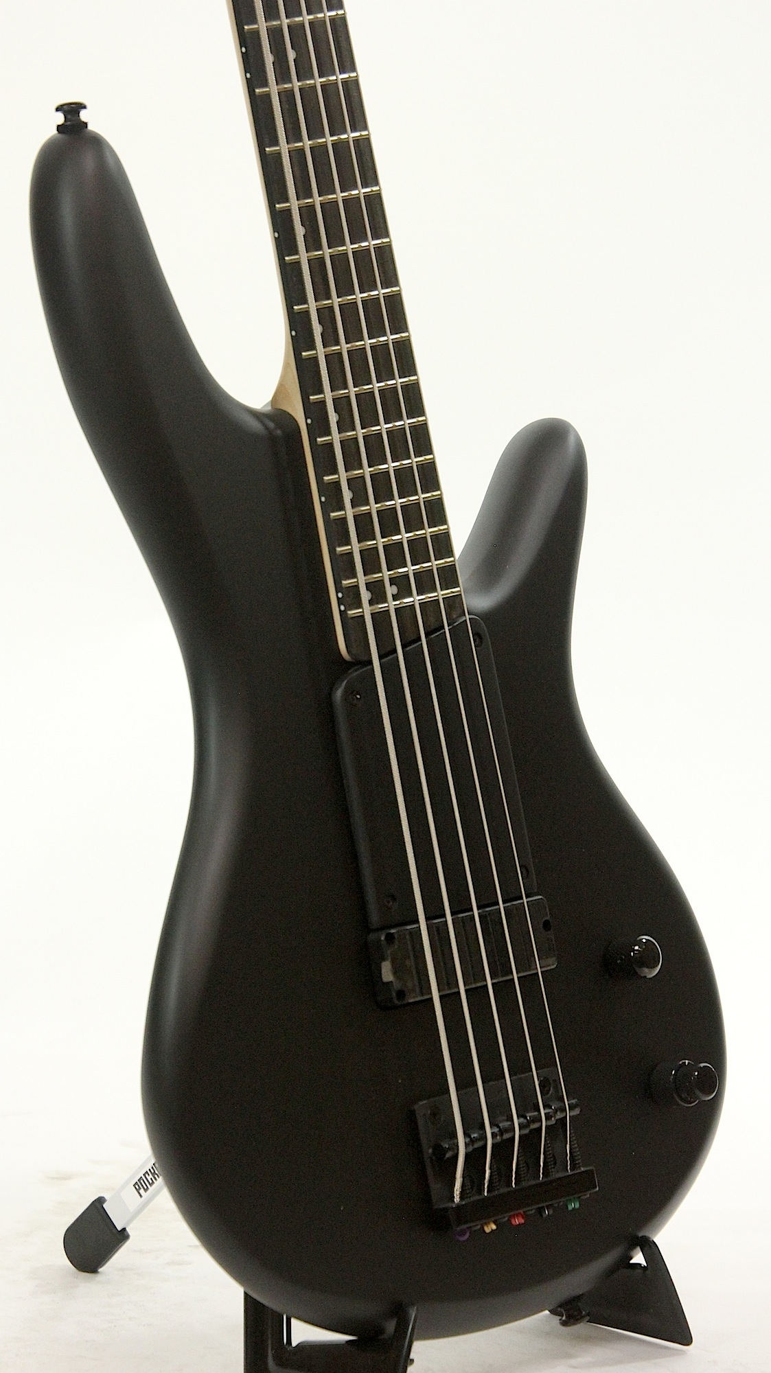 ibanez gwb35fd bkf gary willis black flat 5 string bass guitar 6. Black Bedroom Furniture Sets. Home Design Ideas