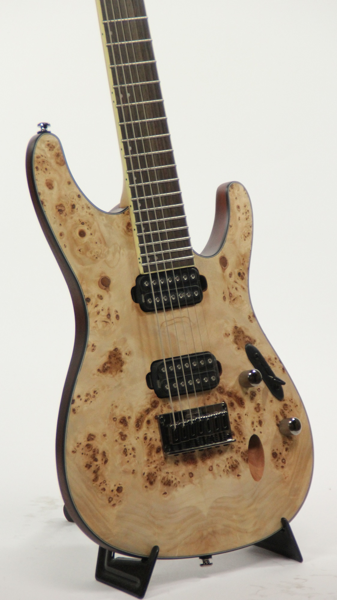 ibanez s7721pb ntf natural flat 7 string electric guitar 6. Black Bedroom Furniture Sets. Home Design Ideas