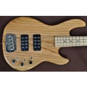 G&L L-2000 USA Custom Made Electric Bass in Natural Maple Fretboard