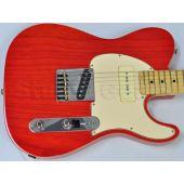 G&L ASAT Classic Bluesboy 90 USA Custom Made Guitar in Clear Orange