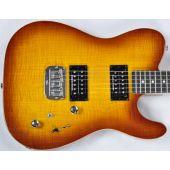 G&L ASAT Deluxe USA Custom Made Guitar in Tobacco Sunburst