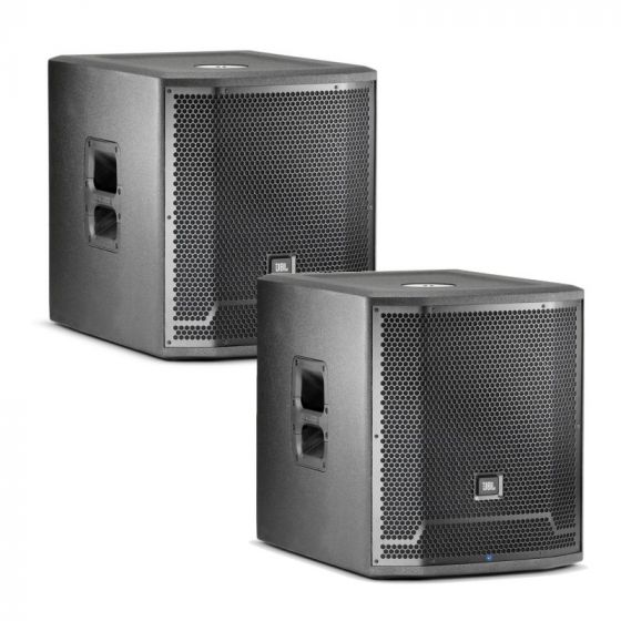 "JBL PRX715XLF 15"" Self-Powered Extended Low Frequency Subwoofer System - Pair"