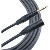 Mogami Gold TRS-XLRM Cable 15 ft. GOLD-TRSXLRM-15