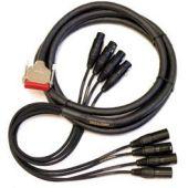Mogami Gold AES DB25-XLR Cable 10 ft. GOLD-AES-DB25-XLR-10