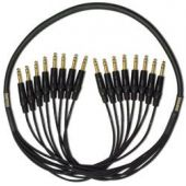 Mogami Gold 8 TRS-TRS Cable 5 ft. GOLD 8 TRSTRS-05