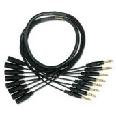 Mogami Gold 8 TRS-XLRM Cable 10 ft. GOLD 8 TRSXLRM-10