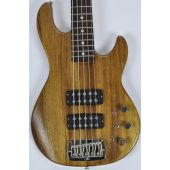 G&L L-2500 usa monkey pod bass in natural satin finish