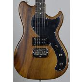 G&L fallout usa custom made monkey pod electric guitar in natural