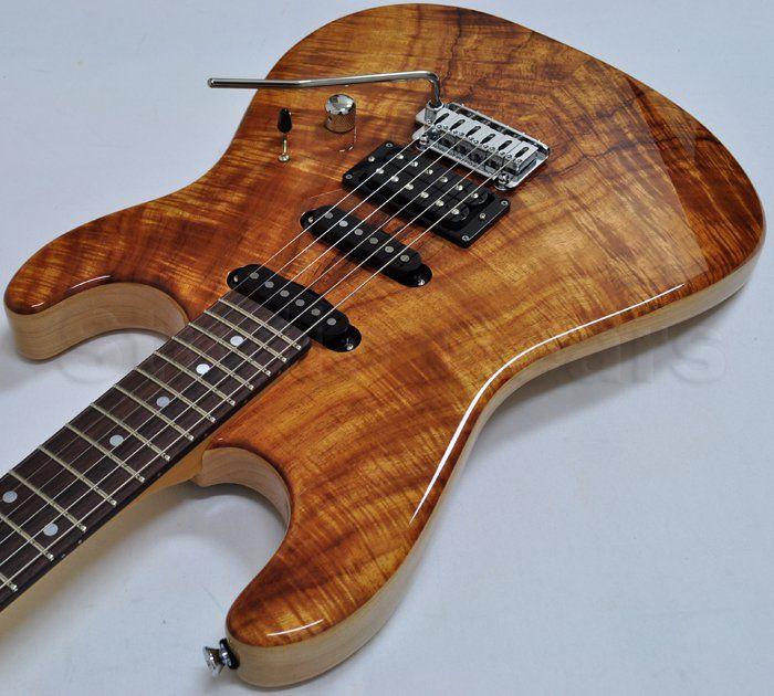 schecter usa california custom elite koa top electric guitar 6. Black Bedroom Furniture Sets. Home Design Ideas