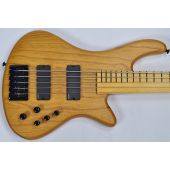 Schecter Stiletto Session-5 FL Electric Bass Aged Natural Satin