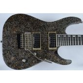 ESP M-II 7 String Exhibition Japan Custom Shop Guitar in Rusty Iron