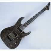 ESP M-II 7 String Exhibition Japan Custom Shop Guitar in Rusty Iron 3961EX1621
