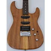 G&L USA Legacy Spalted Alder Top Electric Guitar in Natural Gloss Finish