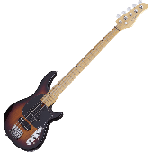 Schecter CV-5 Electric Bass 3-Tone Sunburst  SCHECTER2494