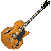 Ibanez Artcore Expressionist Vintage AKJV90DDAL Hollow Body Electric Guitar in Dark Amber Low Gloss Finish  AKJV90DDAL