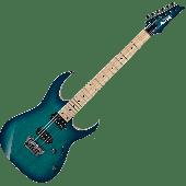 Ibanez RG Prestige RG652AHMFX Electric Guitar in Nebula Green Burst with Case RG652AHMFXNGB