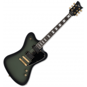 ESP LTD Bill Kelliher Sparrowhawk Signature Electric Guitar Military Green Sunburst Satin LSPARROWHAWKMGSBS