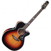 Takamine EF450C-TT NEX Acoustic Guitar Brown Sunburst TAKEF450CTTBSB