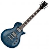 ESP LTD EC-256FM Flamed Maple Top Electric Guitar Cobalt Blue LEC256CB