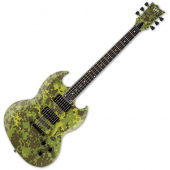 ESP LTD Lars Frederiksen Volsung Signature Electric Guitar Danish Camo Satin LVOLSUNGDCS