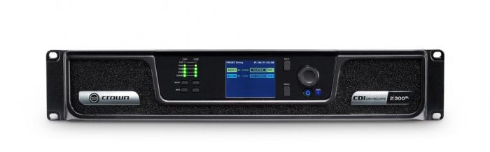 Crown Audio CDi 2|300BL Analog + Blue Link Drivecore Series Amp