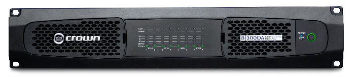 Crown Audio DCi 8|300DA Drivecore Install DA Series Power Amplifier with Dante