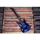 ESP LTD Brian Head Welch SH-7ET FM Signature 7-String Electric Guitar See Thru Purple