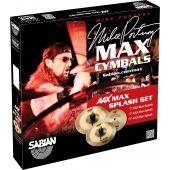 Sabian AAX Max Splash Set 25002XMP