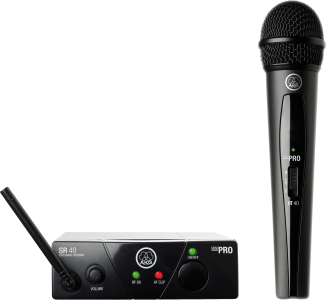 AKG WMS40 Mini Single Vocal Set Wireless Microphone System - Frequency C