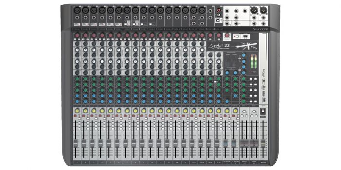 Soundcraft Signature 22MTK Professional Console