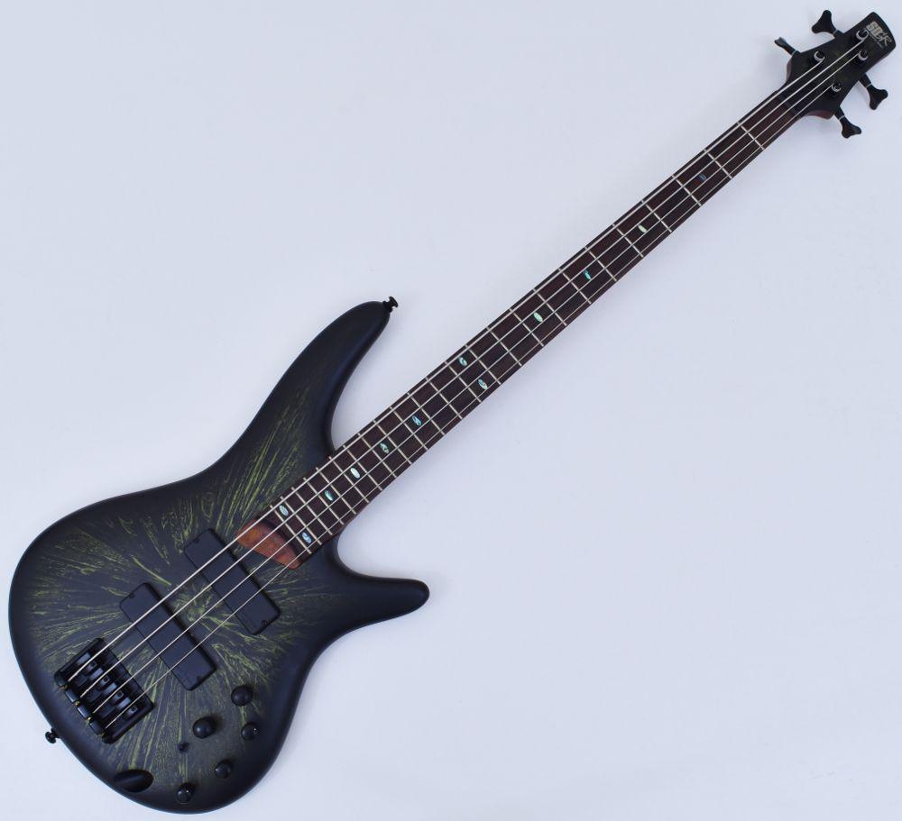 ibanez sr500 bat bass guitar rare arctic green 4 string 6. Black Bedroom Furniture Sets. Home Design Ideas