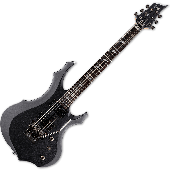 ESP LTD F-200FR Electric Guitar in Charcoal Metallic B-Stock LF200FRCHM.B