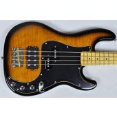 Schecter Diamond-P Plus Electric Bass in Dark Vintage Sunburst Finish
