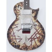 ESP E-II Richard Z RZK-II Burnt Electric Guitar with Case