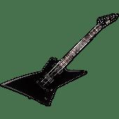 ESP LTD EX-401 Electric Guitar Black B-Stock LEX401BLK.B