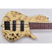 Ibanez SR Bass Workshop SRSC805 5 String Electric Bass Natural Flat MINT