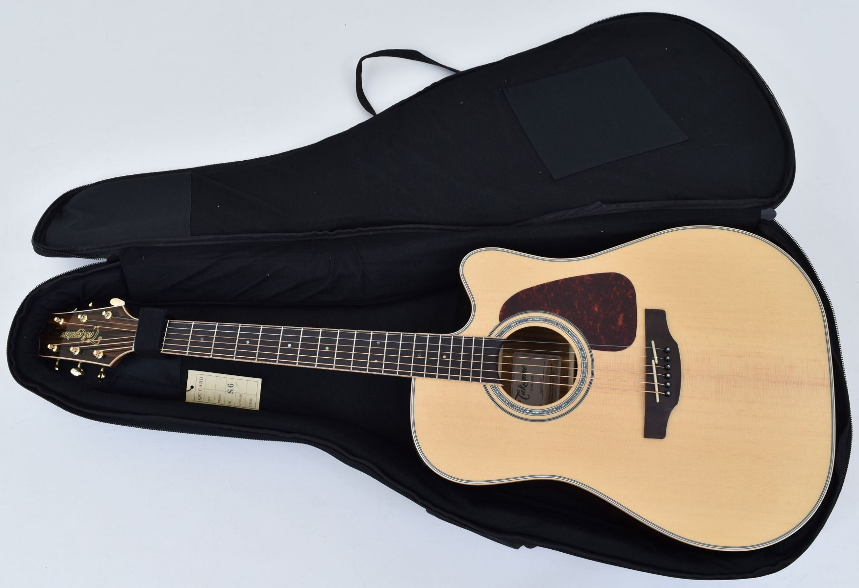 Takamine GD90CE-ZC Dreadnought Acoustic Electric Guitar Natural With Gig Bag