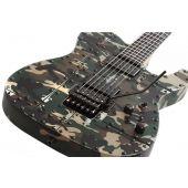 Schecter Masterwork PT Custom FR Camo Electric Guitar