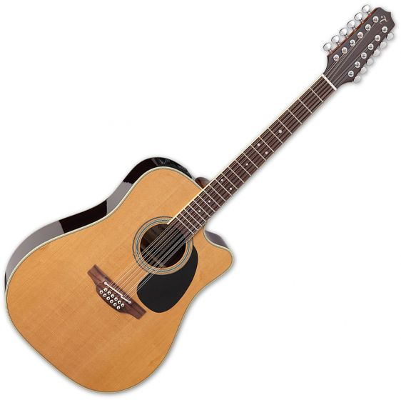 Takamine EF400SC TT Dreadnought Acoustic Guitar Natural Gloss