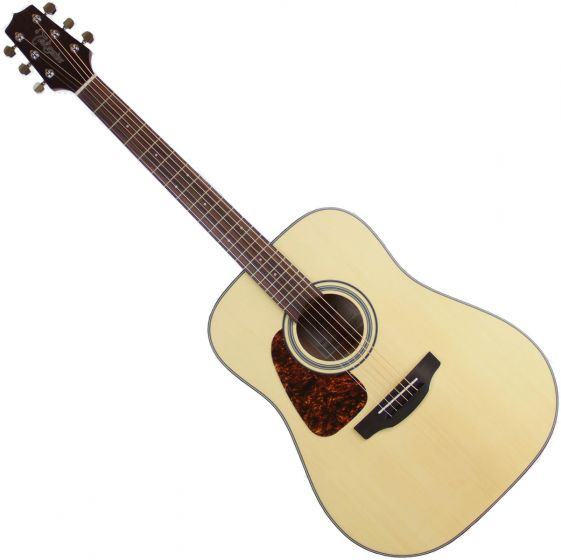 Takamine GD10-NS Left-Handed Dreadnought Acoustic Guitar Natural Satin