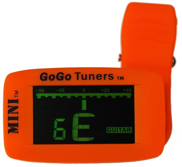GoGo Tuners The MINI Acoustic Clip on Tuner Guitar