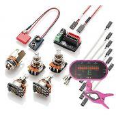 EMG 1-2 Pickup Conversion Wiring Kit Solderless w/ Free Guitar Tuner 3250.00
