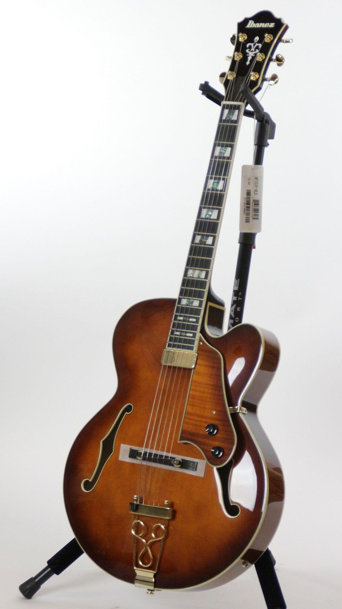 ibanez af151f artstar violin sunburst jazz box electric guitar w case 6. Black Bedroom Furniture Sets. Home Design Ideas