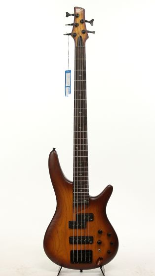 Ibanez SR655 BBF 2015 Brown Burst Flat Electric Bass Guitar