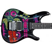 Ibanez JS25ART Joe Satriani Art 2015 Electric Guitar