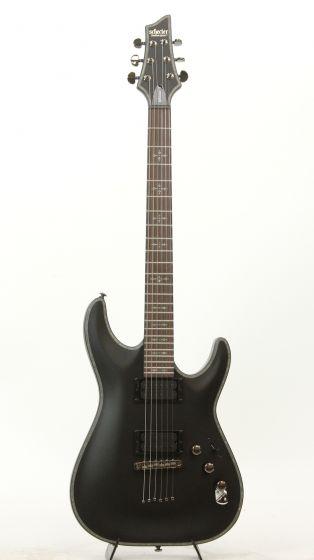 Schecter Hellraiser C-1 Passive (SBK) 1938 Satin Black Electric Guitar