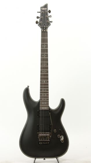 Schecter Hellraiser C-1 FR Passive (SBK) 1940 Satin Black Electric Guitar