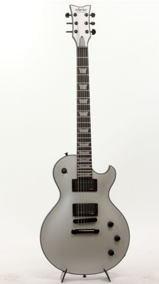 Schecter Solo-II Platinum SSV 814 Satin Silver Electric Guitar