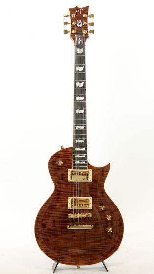 ESP ECLIPSE 40TH TE 2015 Tiger Eye Electric Guitar #28/40