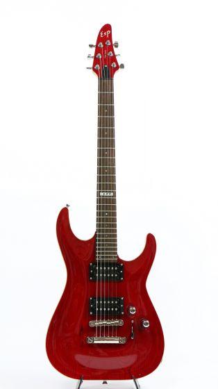 ESP Horizon NT Bolt-On See Thru Red Electric Guitar Rare NOS